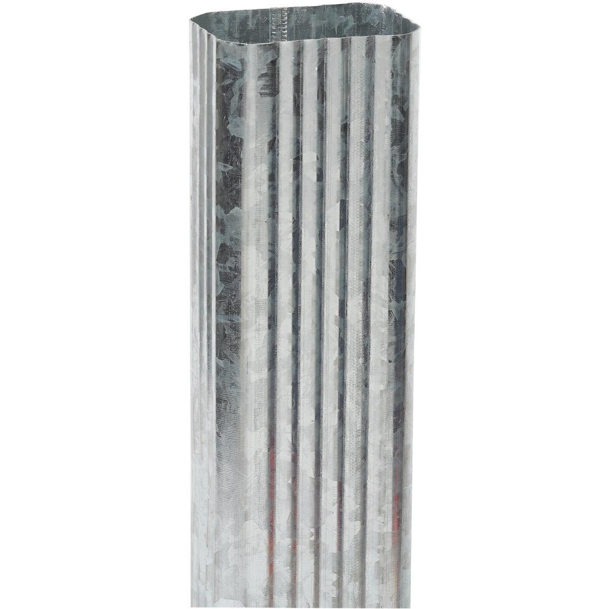 Galvanized Downspout