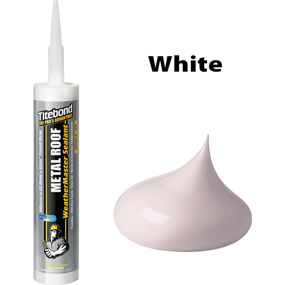 10OZ WHITE METAL SEALANT - 61041 by Franklin Interl