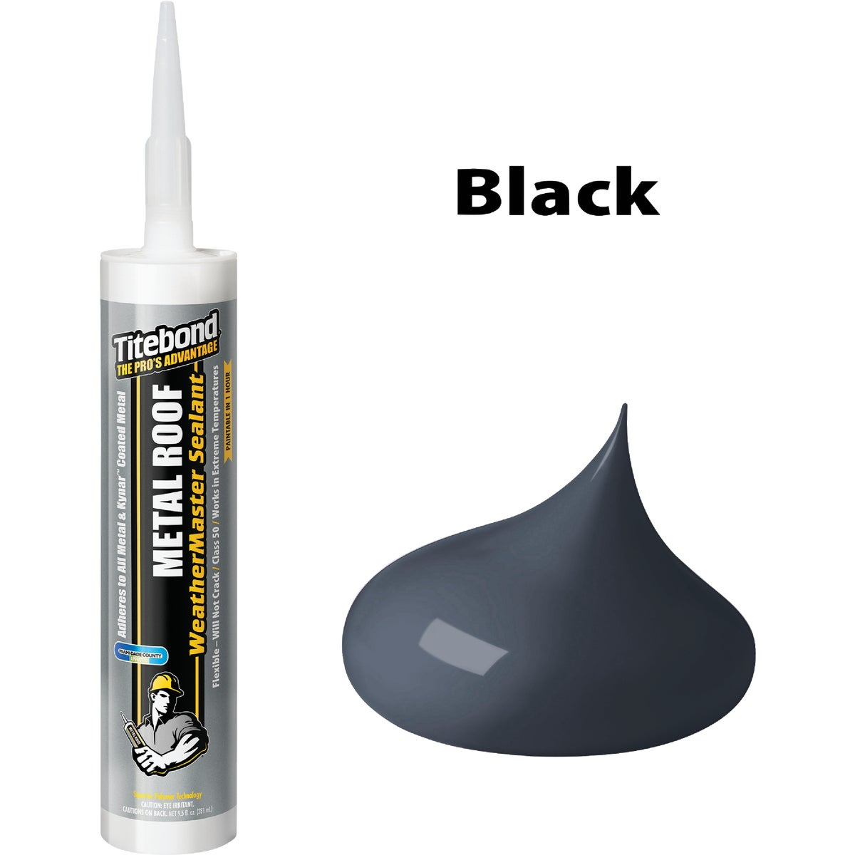 10OZ BLACK METAL SEALANT