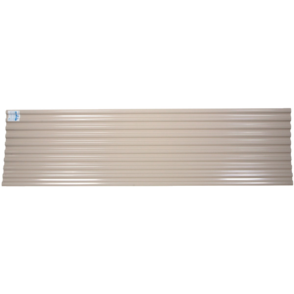 12' TAN CORRUGATED PANEL