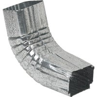 Galvanized Front Elbow