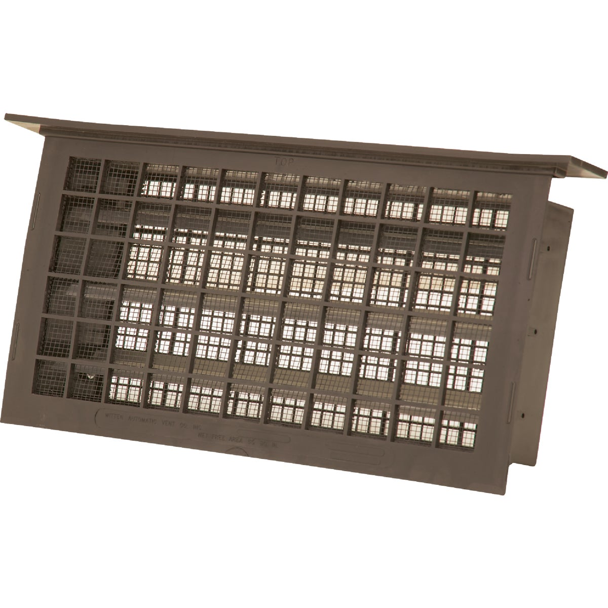 BRN AUTO FOUNDATION VENT - 304LBR by Witten Automatic Vnt
