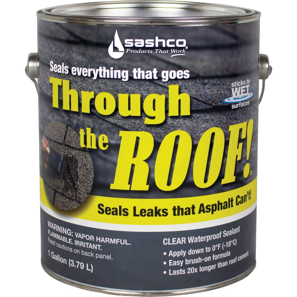 GAL VOC CLR ROOF SEALANT - 14024 by Sashco Sealants Inc