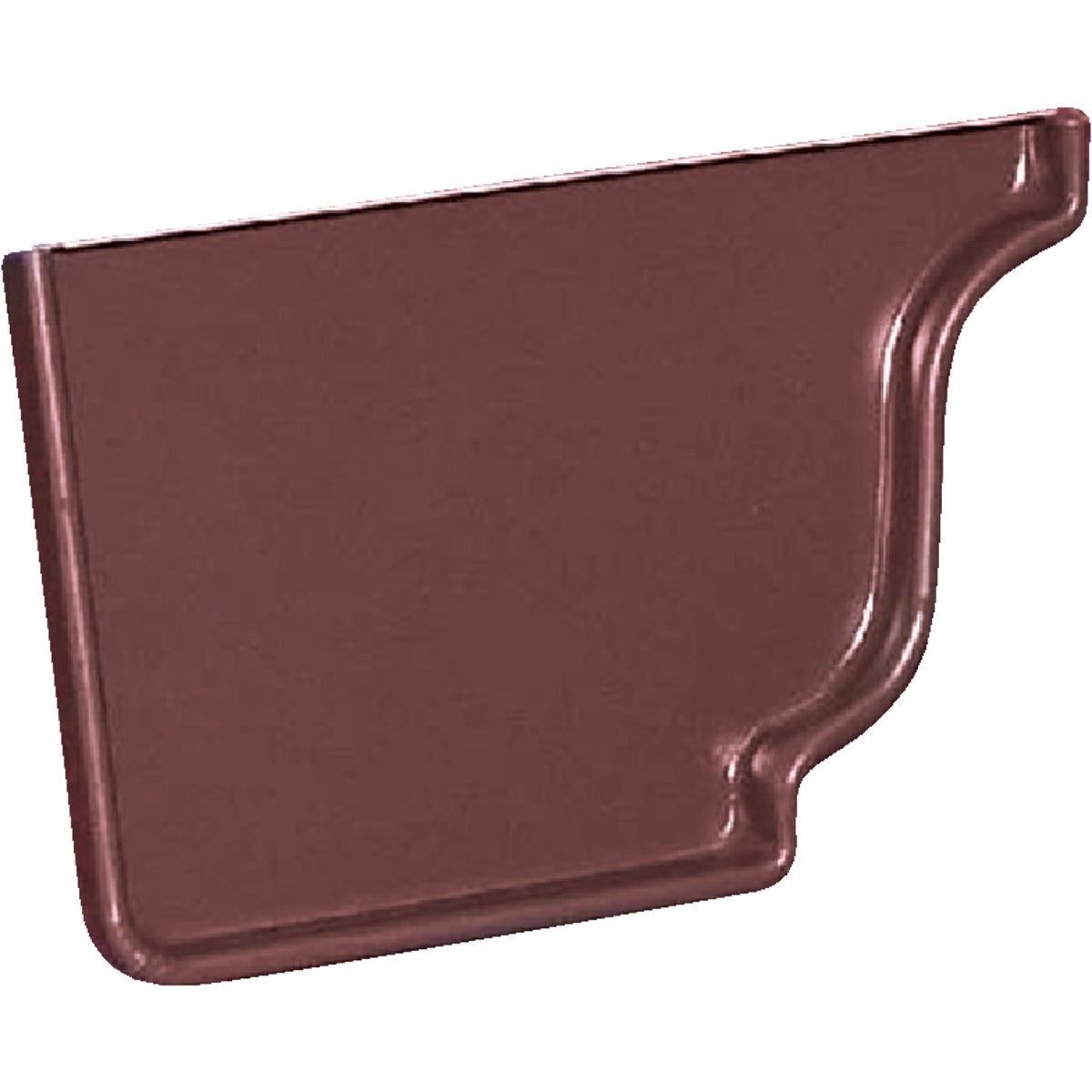 BROWN LEFT END CAP - 3320519 by Amerimax Home Prod