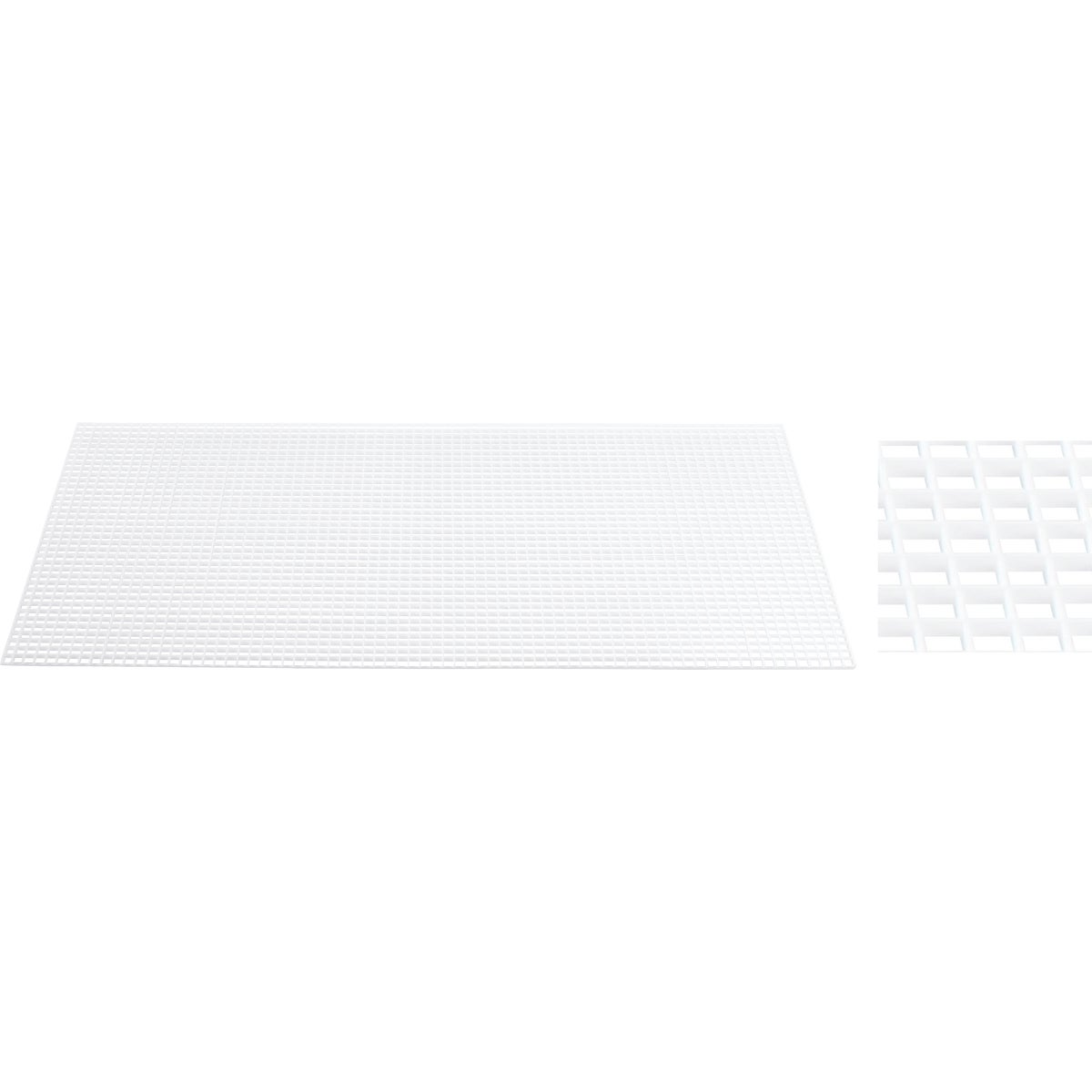 "3/8"" WHT EGG CRATE PANEL - 1199233A by Plaskolite Inc"