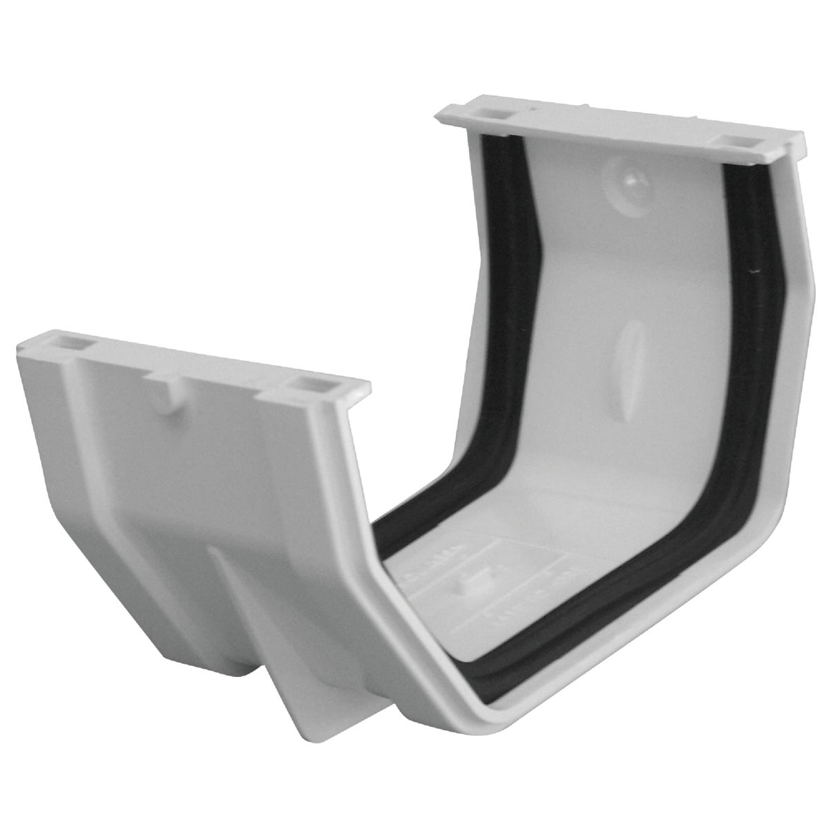 WHT GUTTER SLIP JOINT - RW105 by Genova Products