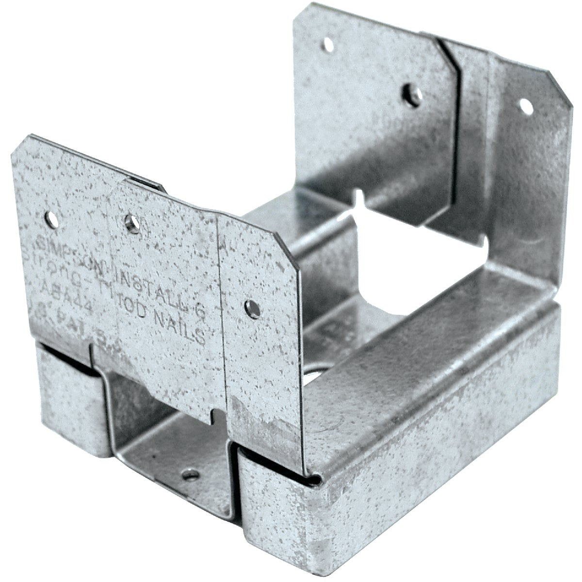 4X4 ADJ POST BASE Z-MAX - ABA44Z by Simpson Strong Tie