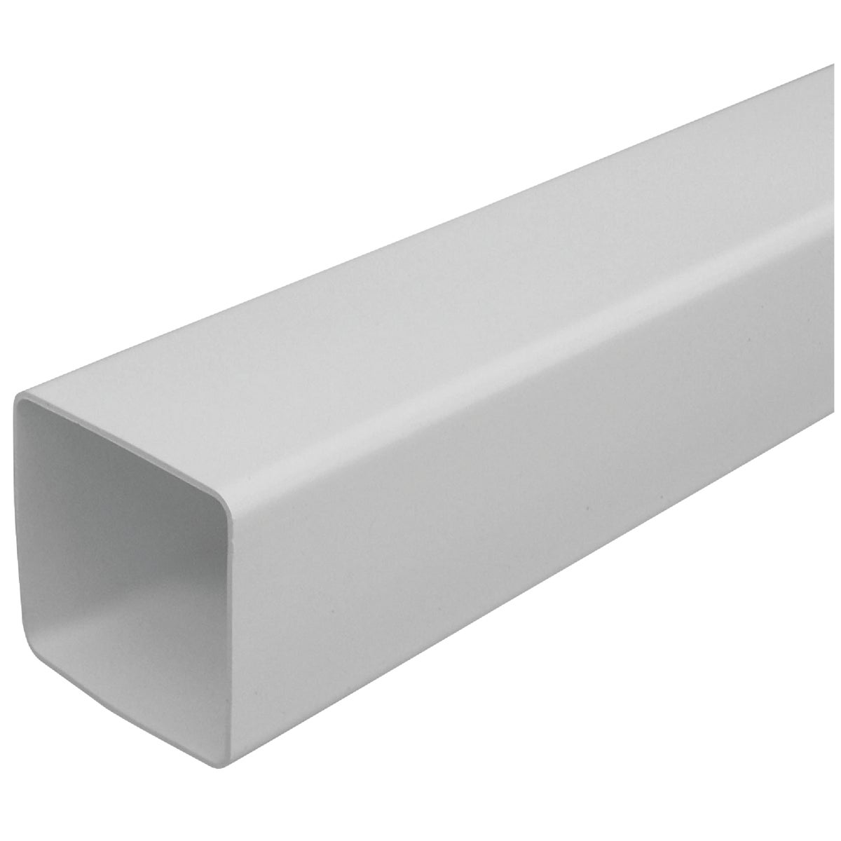 10' WHT VINYL DOWNSPOUT - RW200 by Genova Products