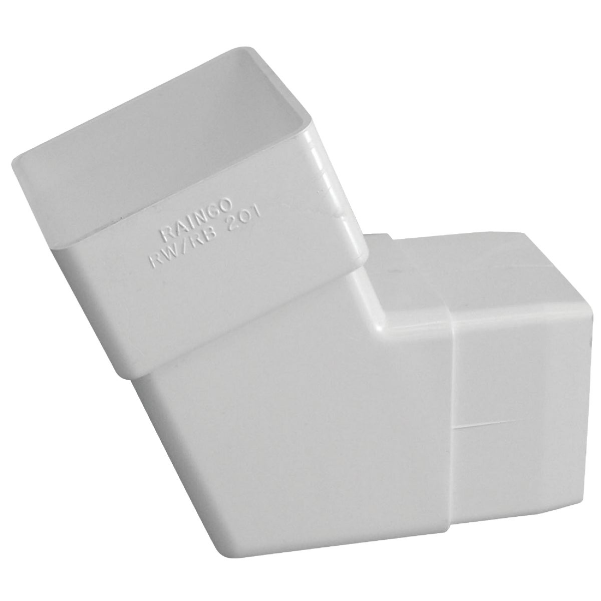 WHT DOWNSPOUT ELBOW - RW201 by Genova Products