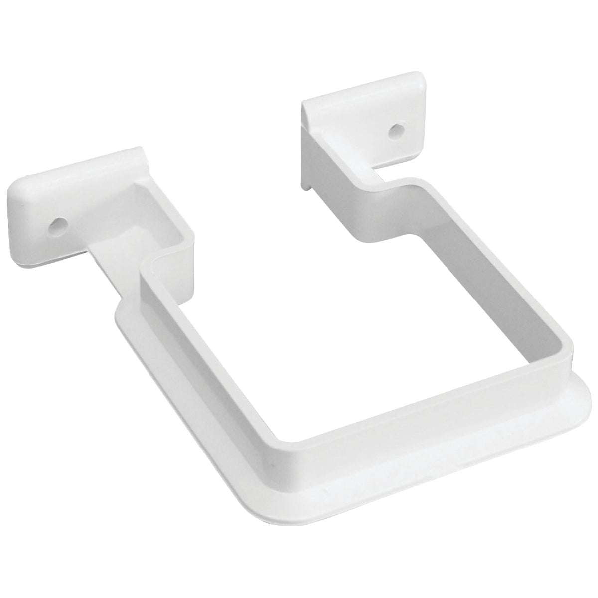 WHT DOWNSPOUT BRACKET