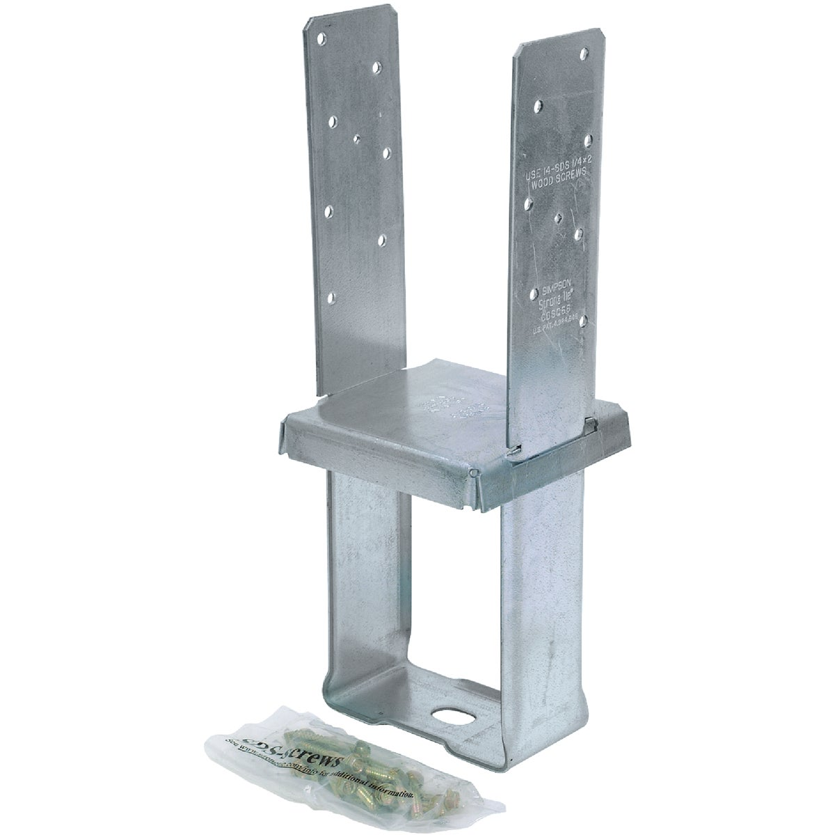 6X6 STANDOFF COLUMN BASE - CBSQ66-SDS2 by Simpson Strong Tie