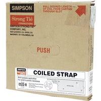 25' 22Ga Coiled Strap