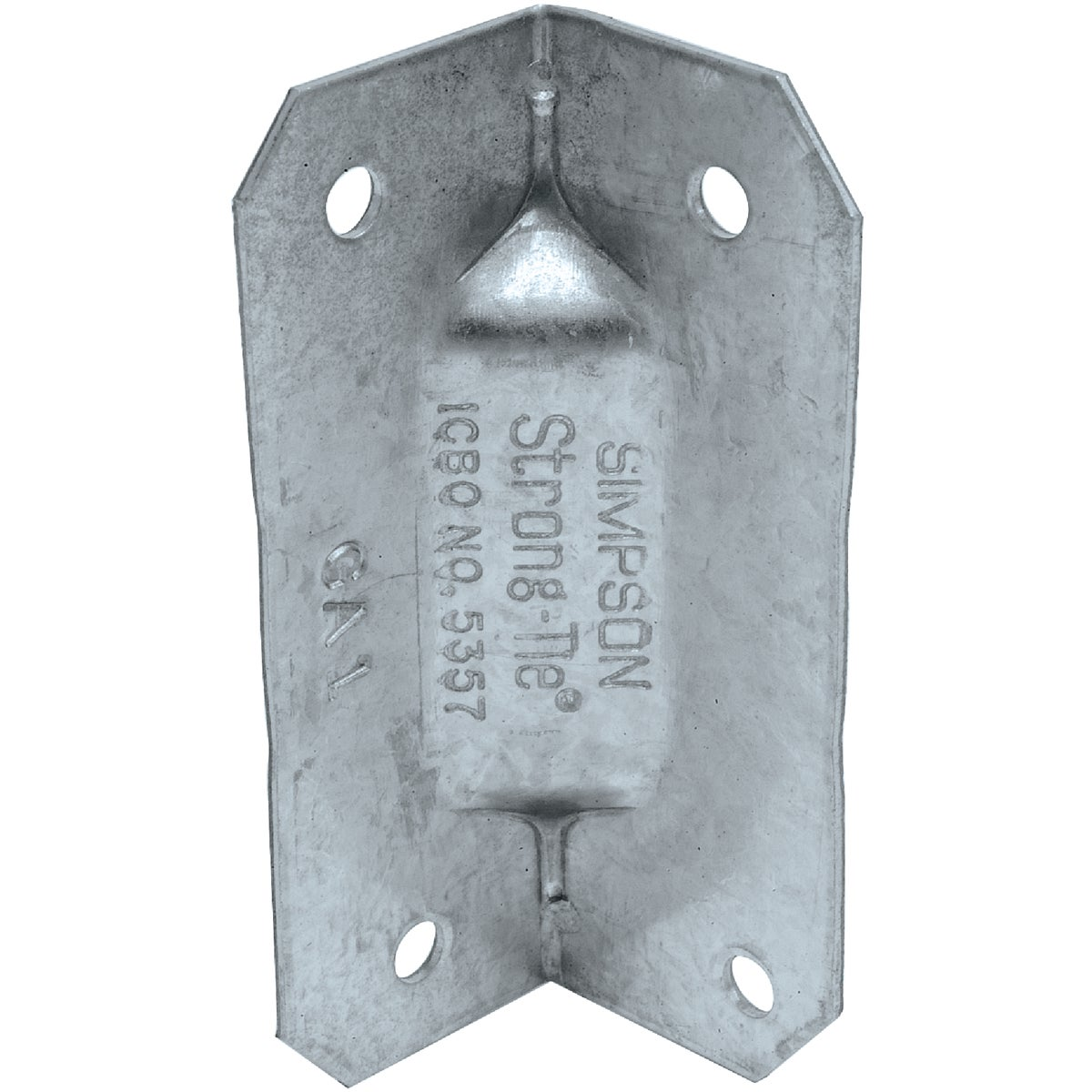 REINFORCING GUSSET ANGLE - GA1 by Simpson Strong Tie