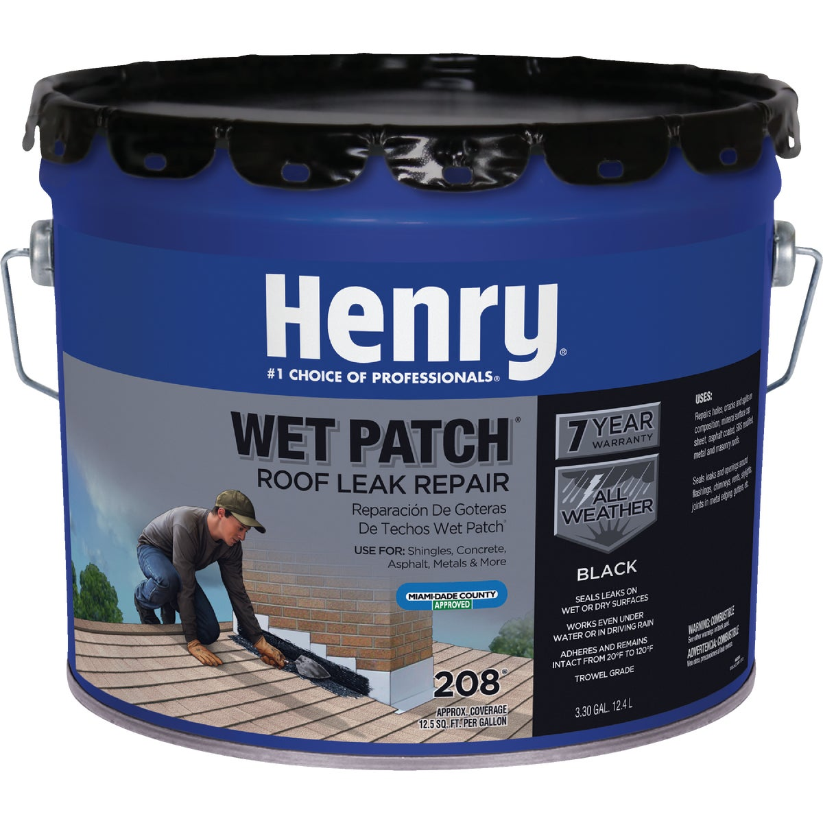 3.5GL WET PTCH RF CEMENT - HE208061 by Henry Company