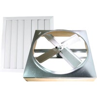 Ventamatic Direct Drive Whole House Fan With Automatic Shutter, CX242DDWT