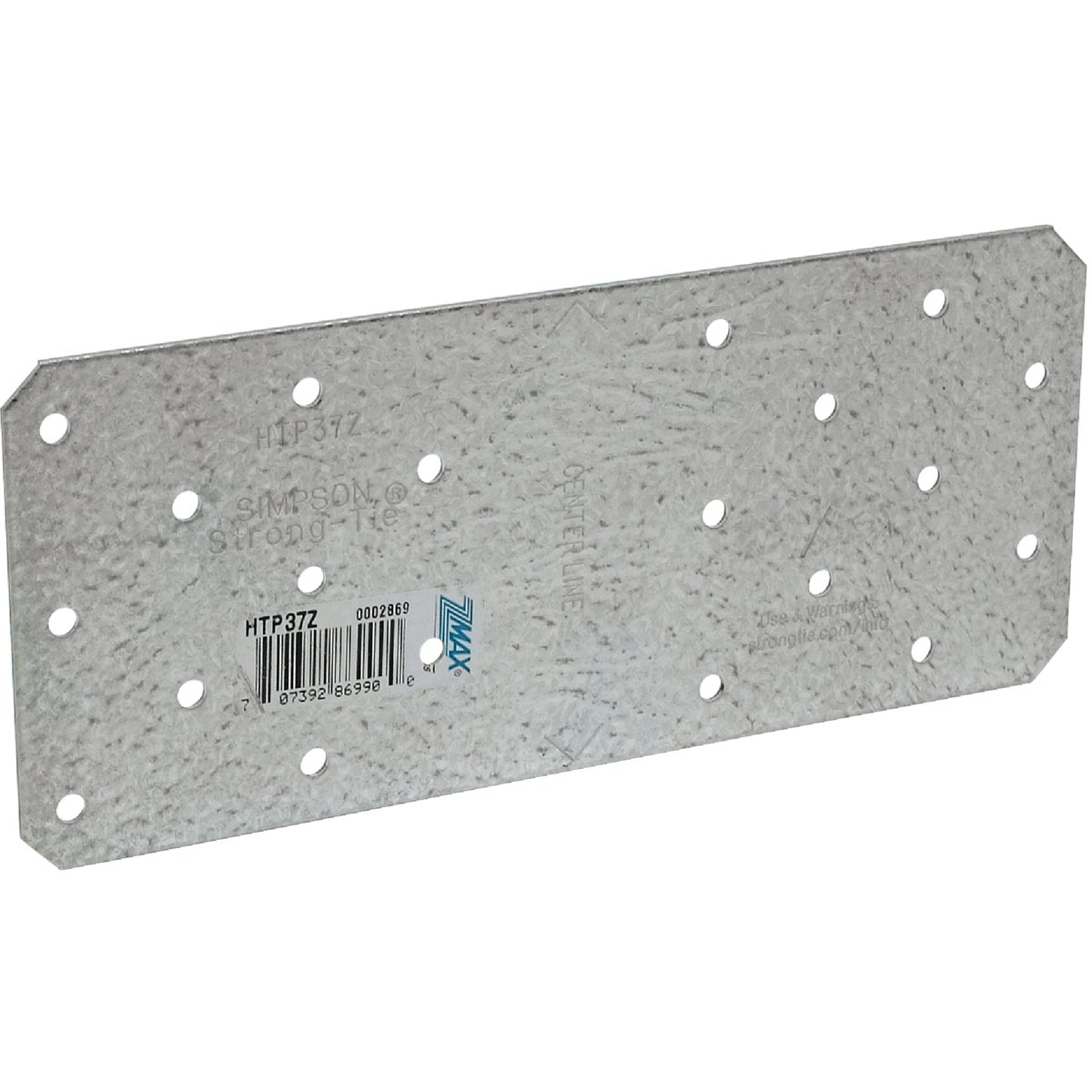 HEAVY TIE PLATE Z-MAX - HTP37Z by Simpson Strong Tie