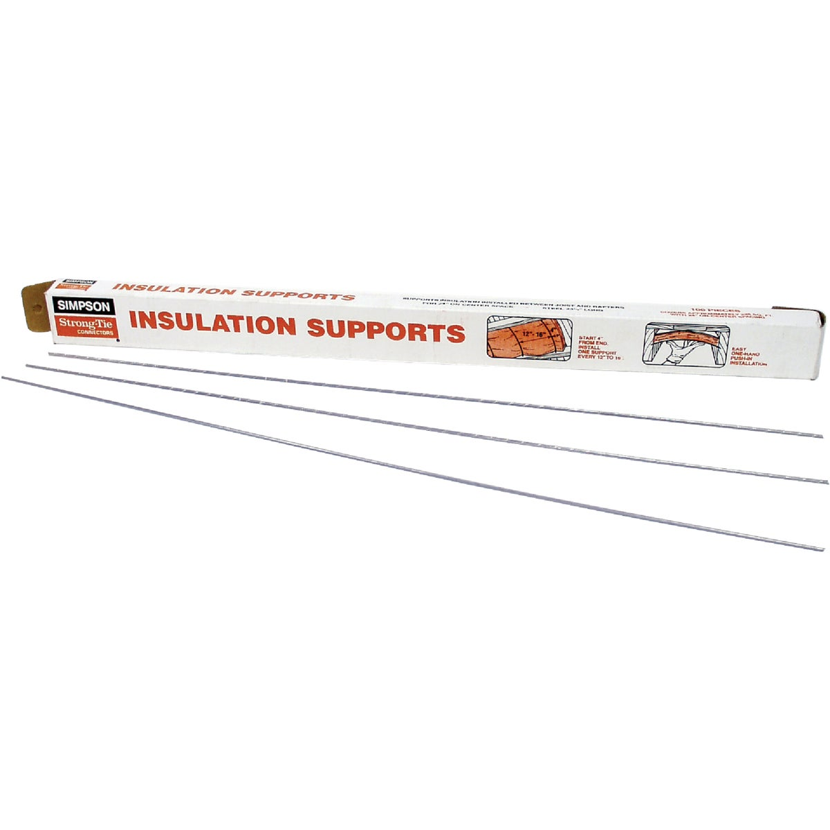 "24"" INSULATION SUPPORTS - IS24-R100 by Simpson Strong Tie"