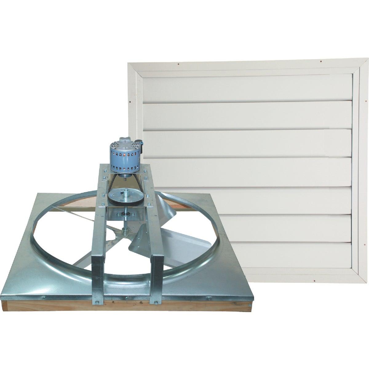Ventamatic Belt Drive Whole House Fan With Automatic Shutter, CX36BD2SPD