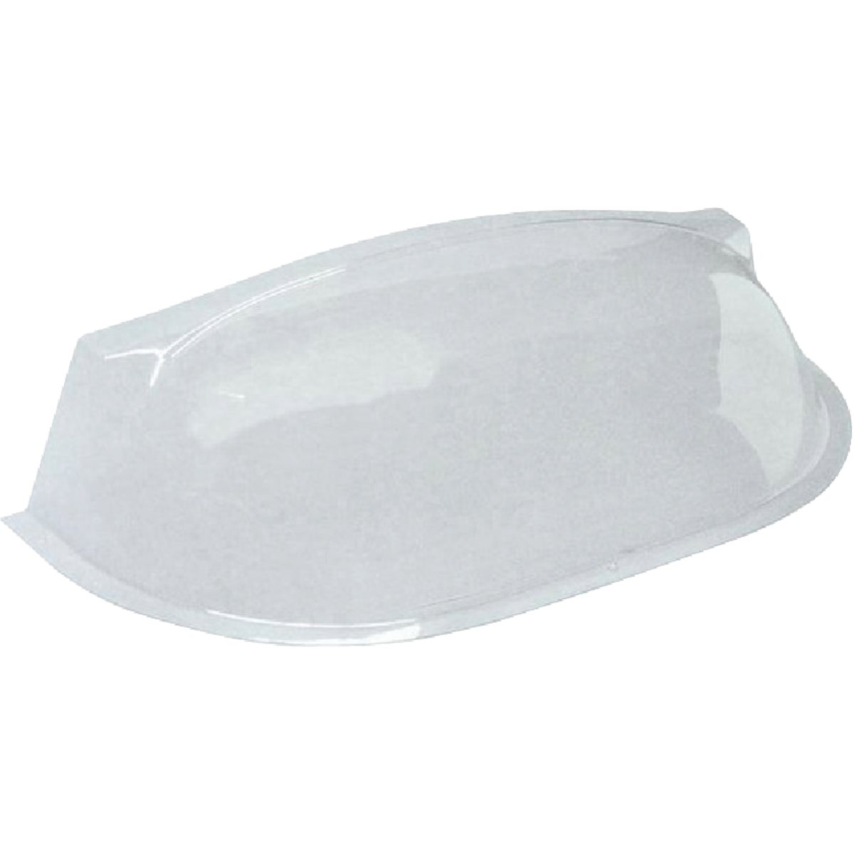 40 In. x 18-1/2 In. Circular Plastic Window Well Cover