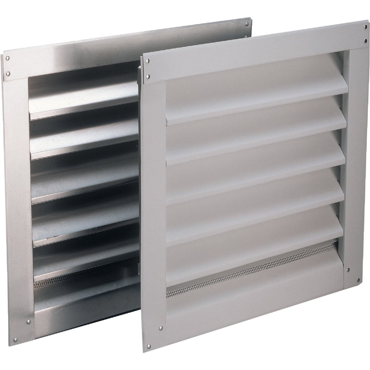 8X8 WHT ALUM WALL LOUVER - RL808900 by Air Vent Inc