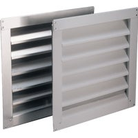Air Vent Inc 8X8 WHT ALUM WALL LOUVER RL808900