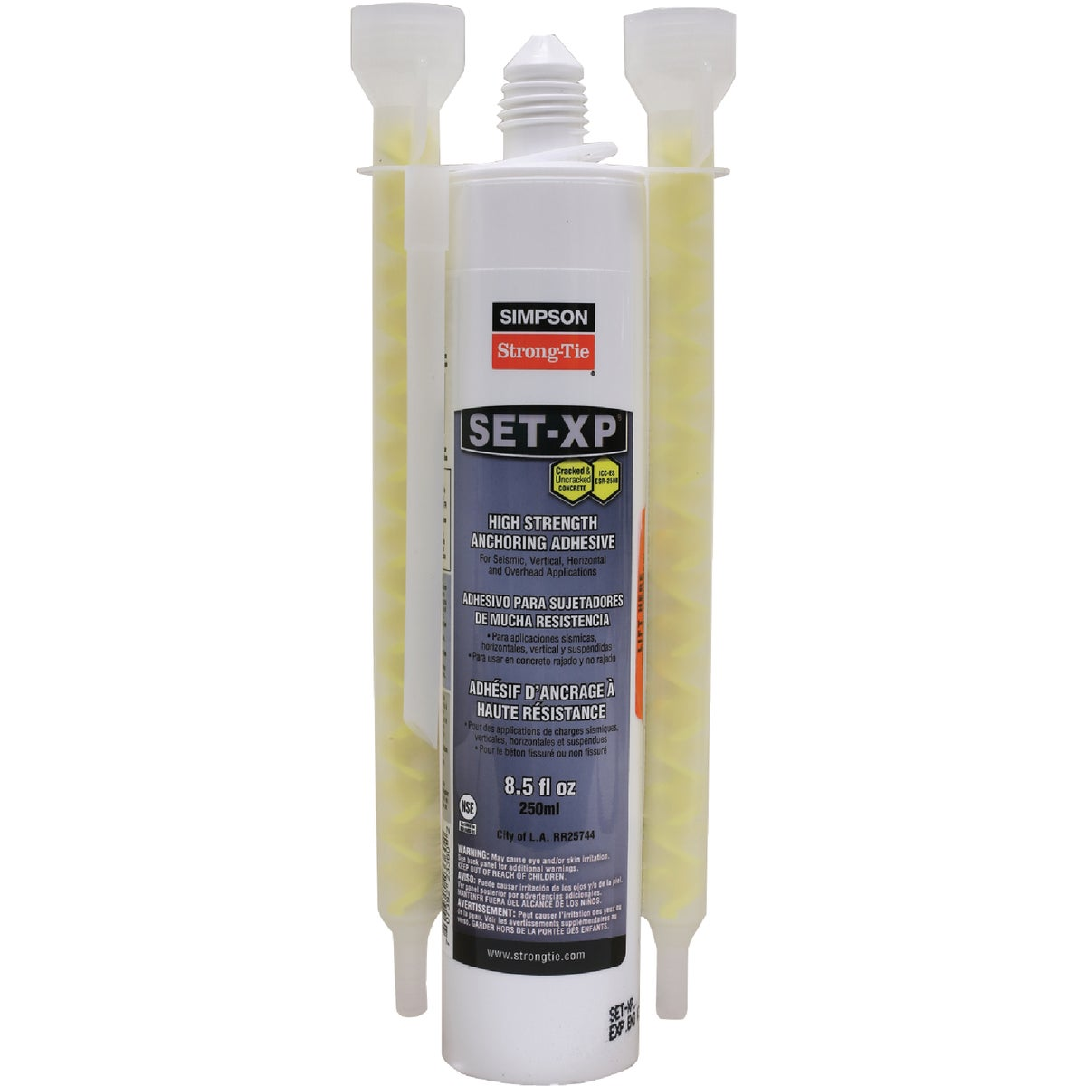 EPOXY-TIE ADHESIVE - SET-XP10 by Simpson Strong Tie