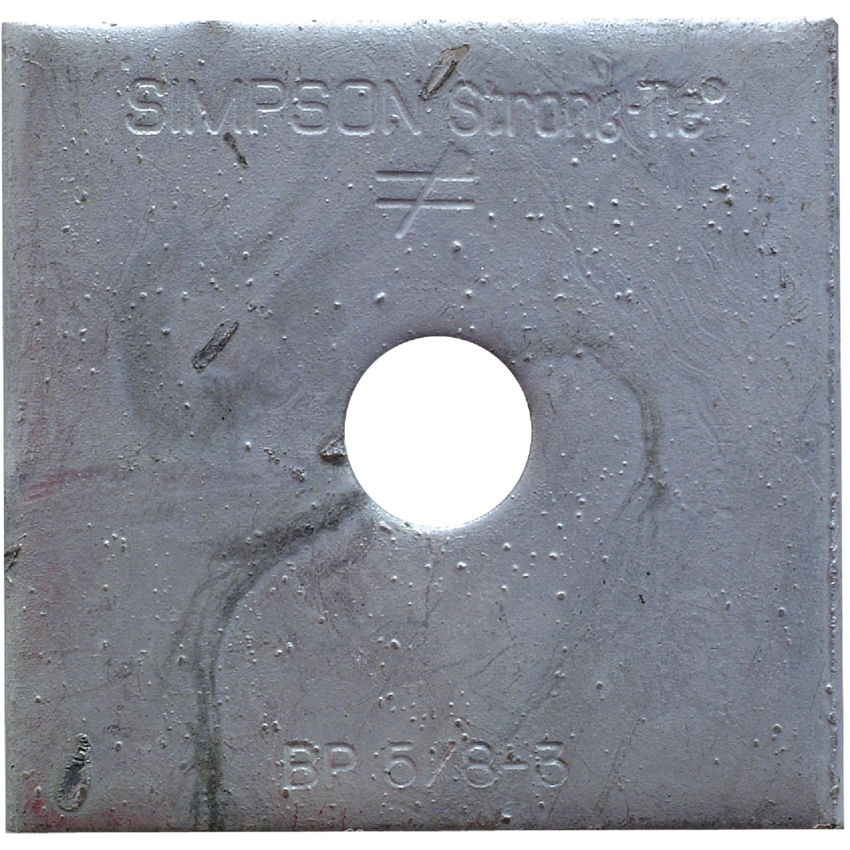 5/8-3 HDG BEARING PLATE - BP 5/8-3HDG by Simpson Strong Tie