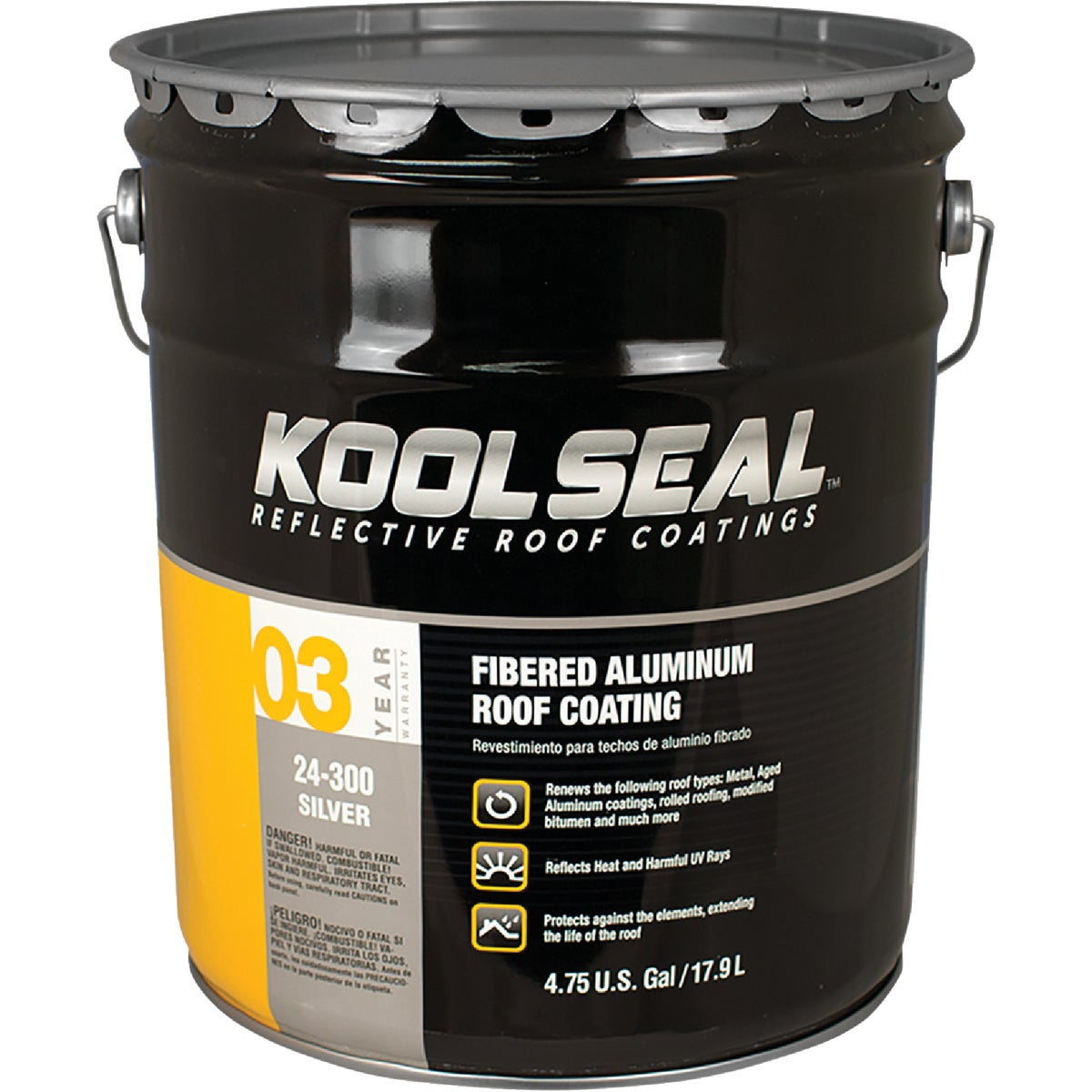 5GAL GOOD ALUM RF COATNG - 20-400-5 by Kool Seal