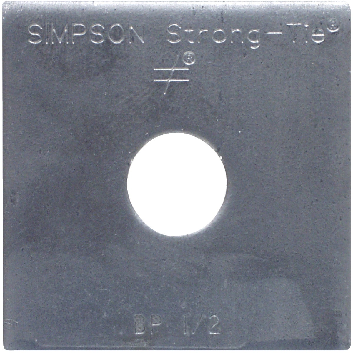 1/2 BEARING PLATE - BP 1/2 by Simpson Strong Tie