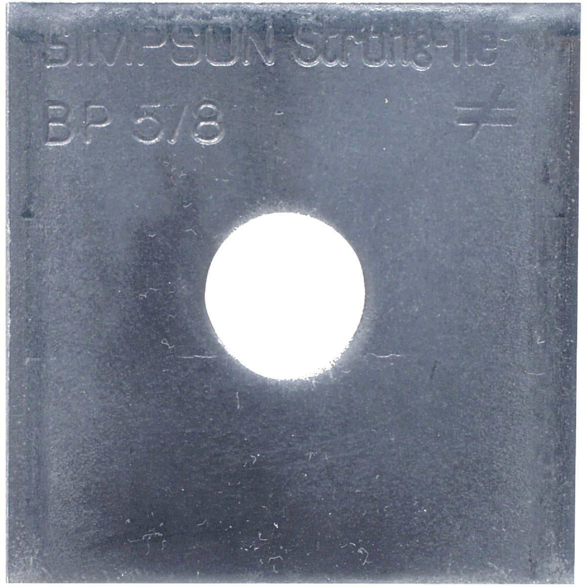5/8 BEARING PLATE - BP 5/8 by Simpson Strong Tie