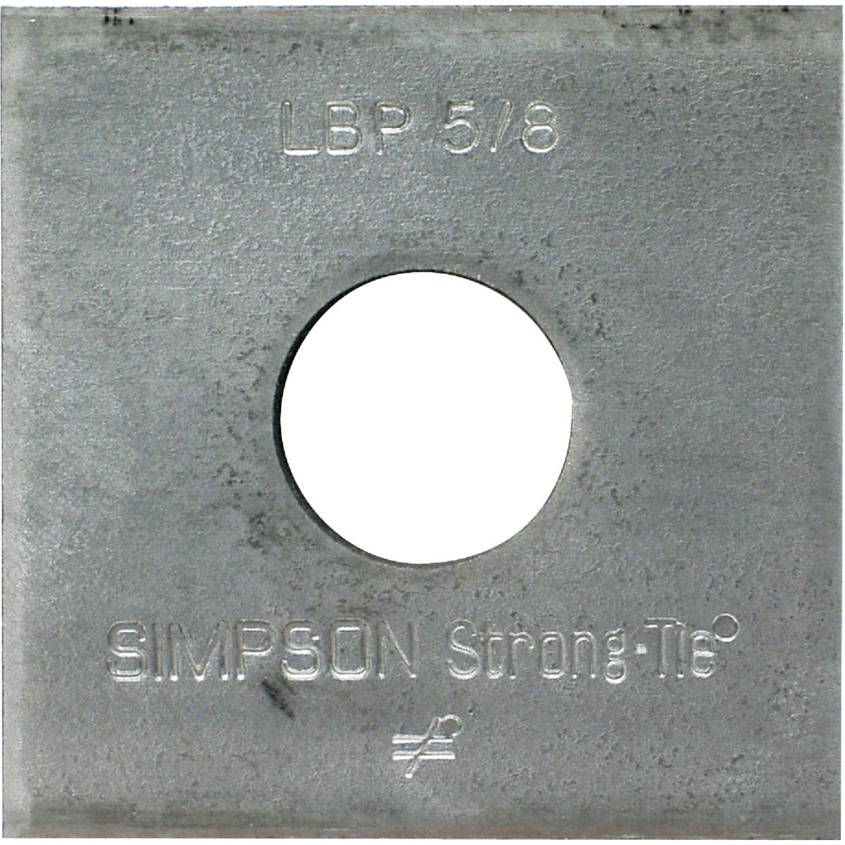 5/8 BEARING PLATE - LBP 5/8 by Simpson Strong Tie