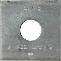 Simpson Strong-Tie 5/8 BEARING PLATE LBP 5/8
