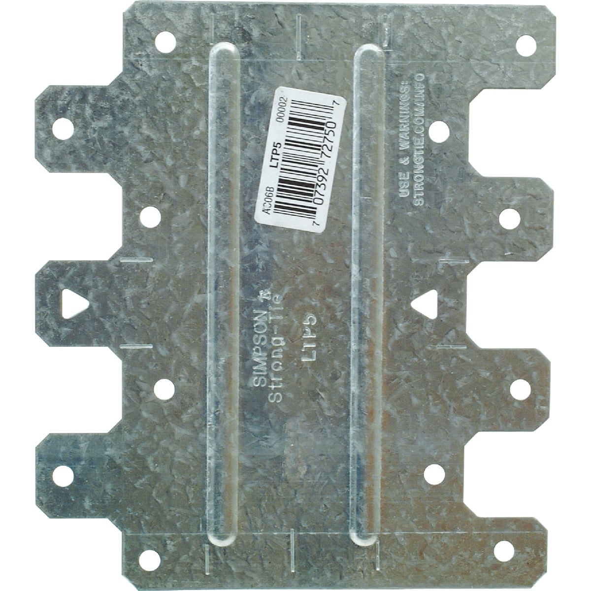 LATERAL TIE PLATE - LTP5 by Simpson Strong Tie