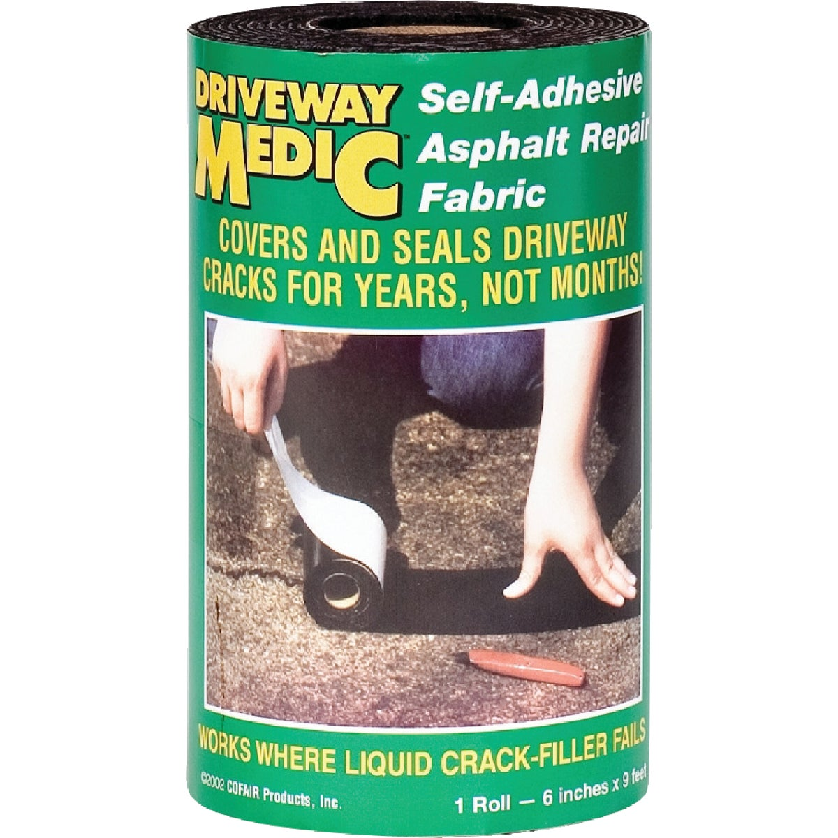 "6""X9' DRIVEWAY MEDIC - 609MD by Cofair Products Inc"