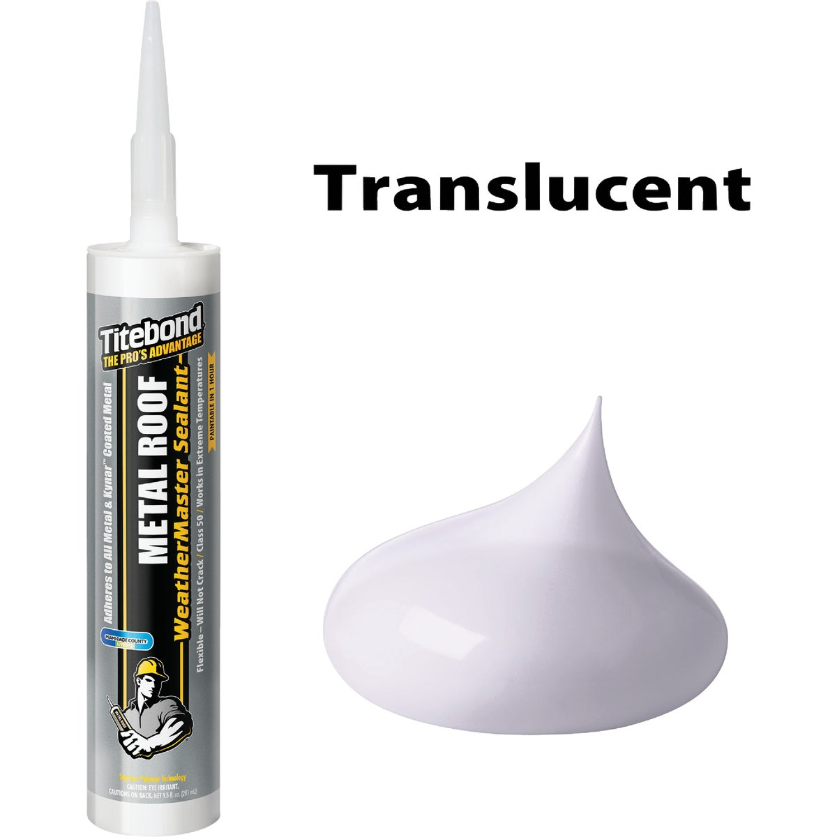 10OZ TRANS METAL SEALANT - 61111 by Franklin Interl