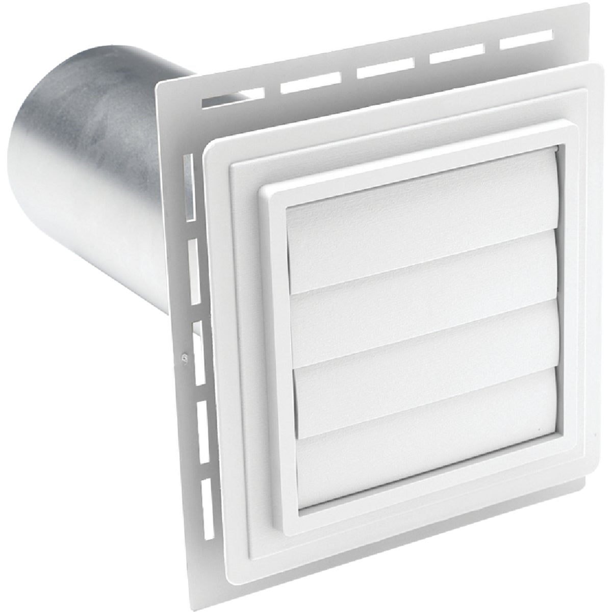 WHITE EXHAUST VENT - EXVENT PW by Alcoa Home Exteriors