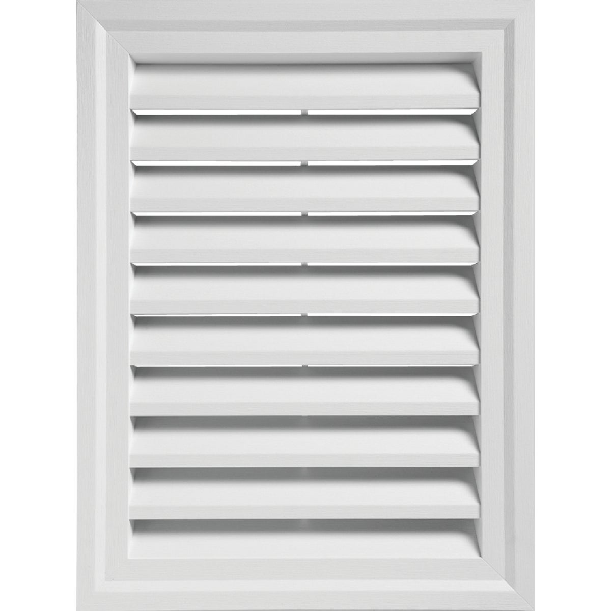 WHITE RECTGLE GABLE VENT - RECTGV1824 PW by Alcoa Home Exteriors