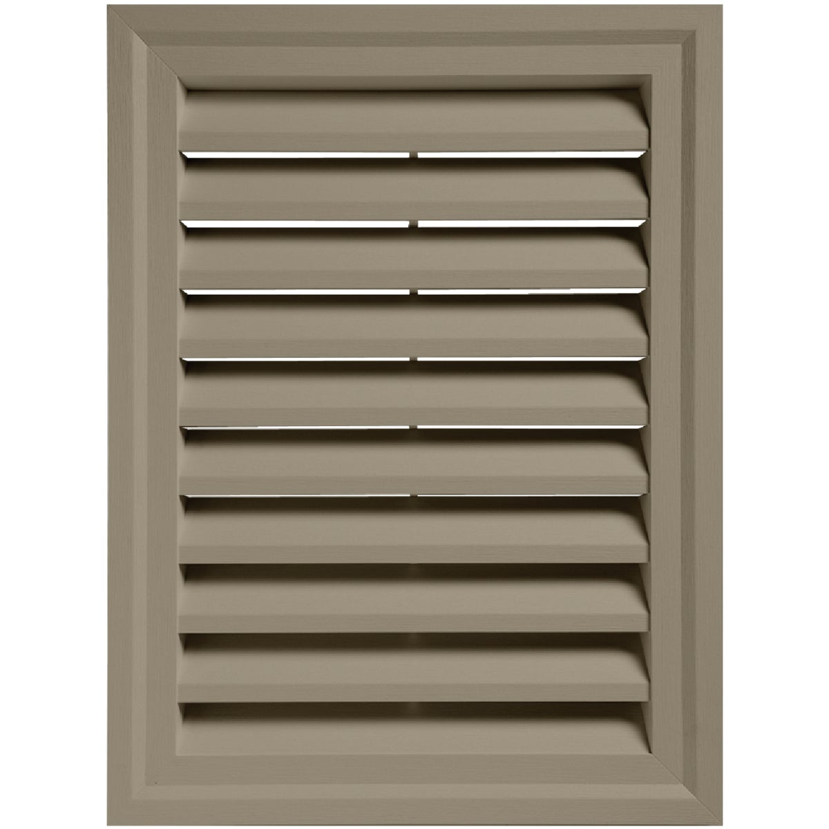 CLAY RECTGLE GABLE VENT - RECTGV1824 PC by Alcoa Home Exteriors