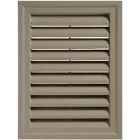 Alcoa Home Exteriors CLAY RECTGLE GABLE VENT RECTGV1824 PC