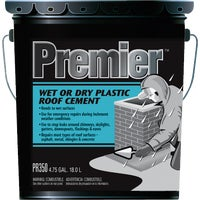 Premier 350 Wet or Dry Plastic Roof Cement, PR350070
