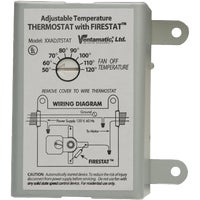 Ventamatic THERMOSTAT W/FIRESTAT XXADJTSTAT