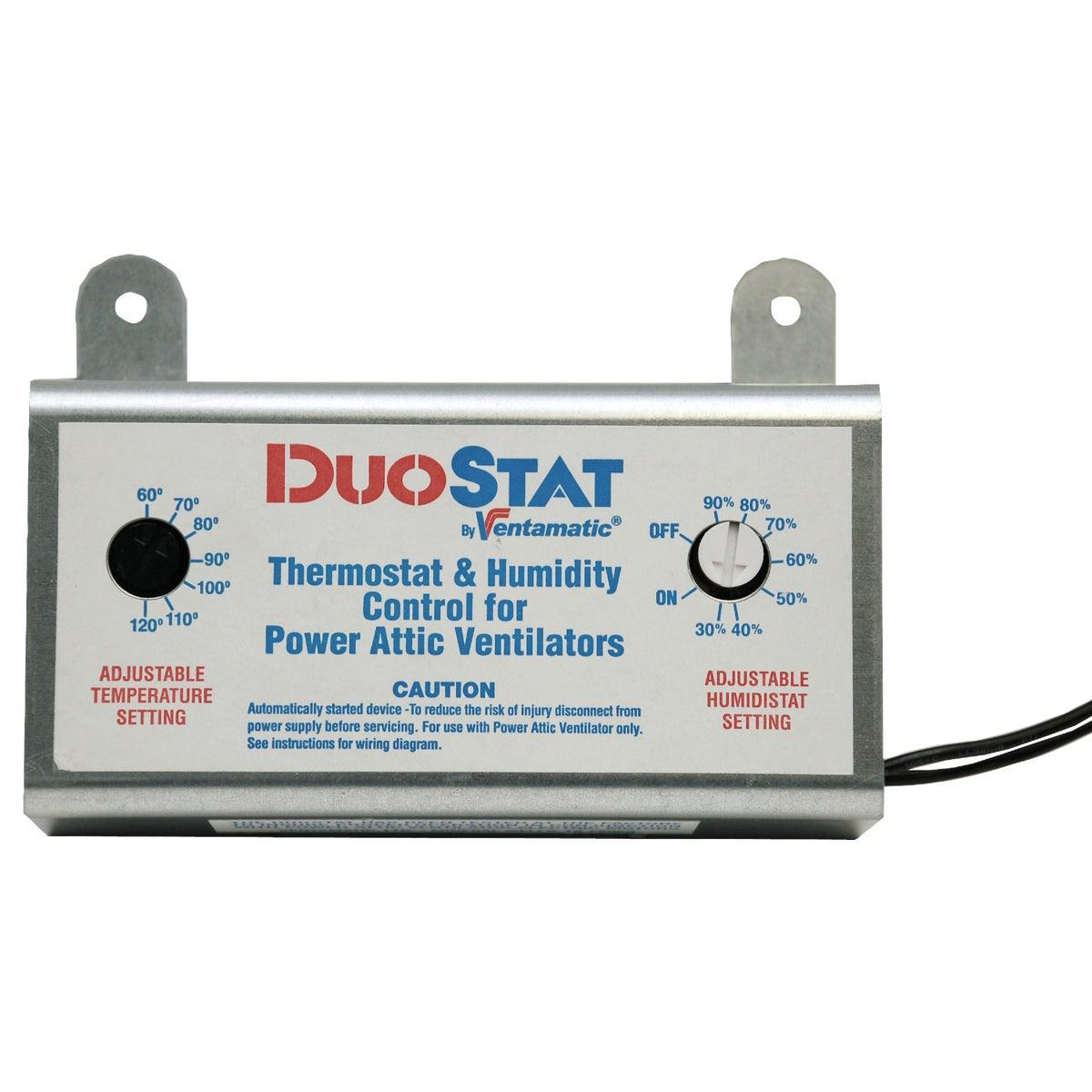 Power Attic Vent Thermostat