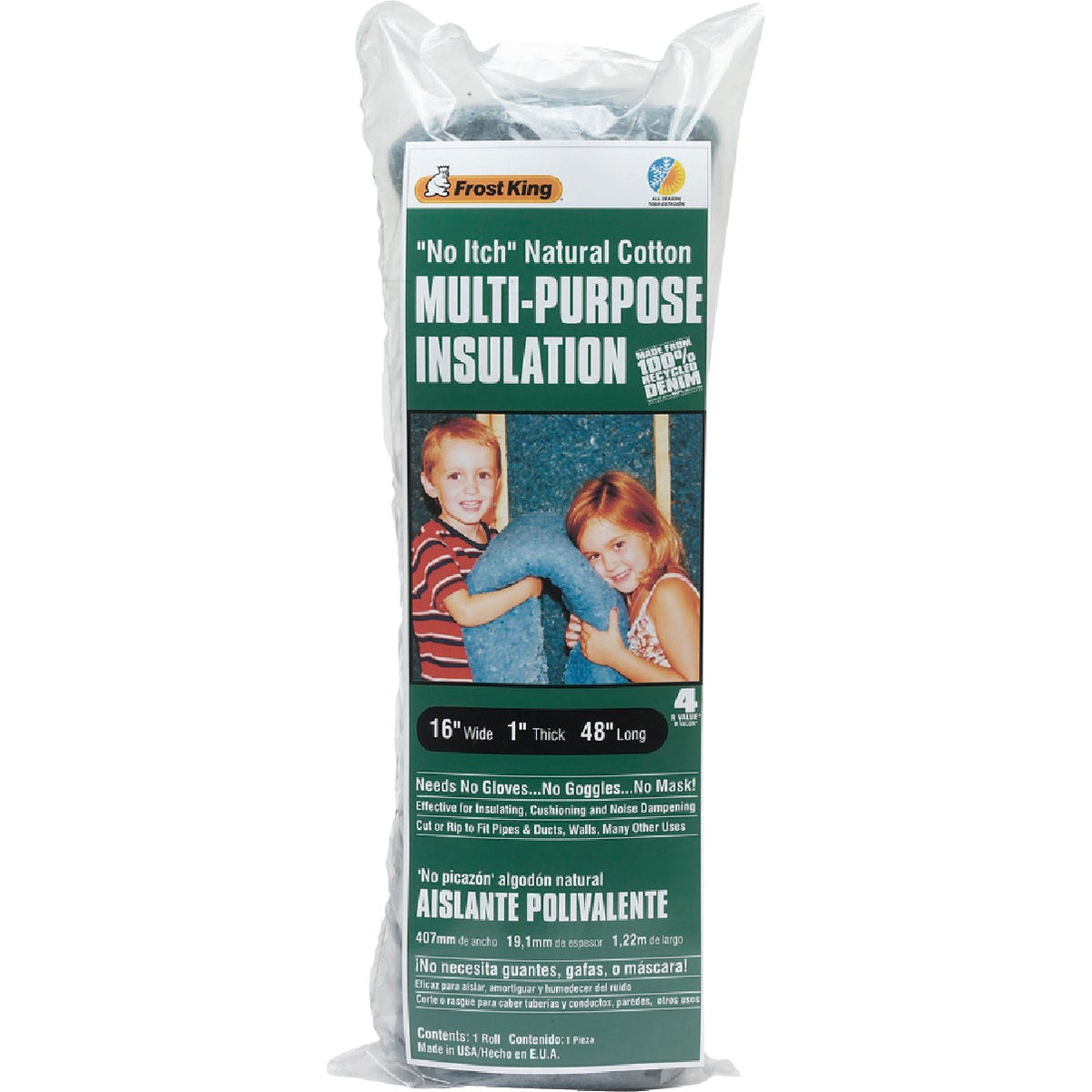 "16""X1""X48"" INSULATION - CF1 by Thermwell Prods Co"