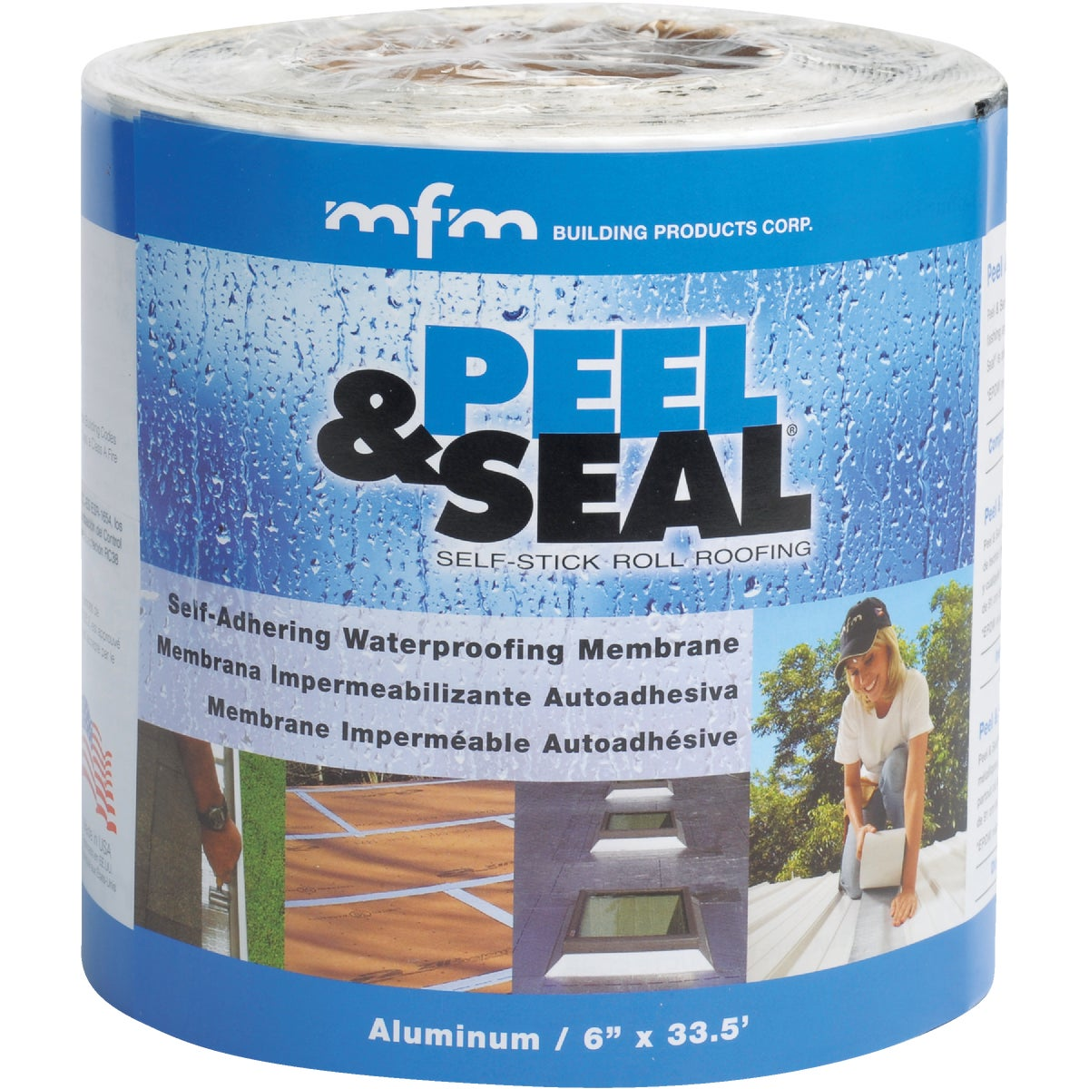 "6""X33.5' PEEL & SEAL - 50042 by M F M Bldg Prod Corp"