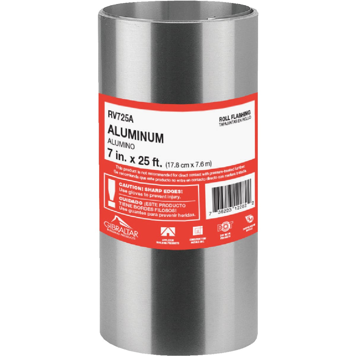 "7""X25' ALUM ROLL VALLEY - 518955 by Noll/norwesco Llc"