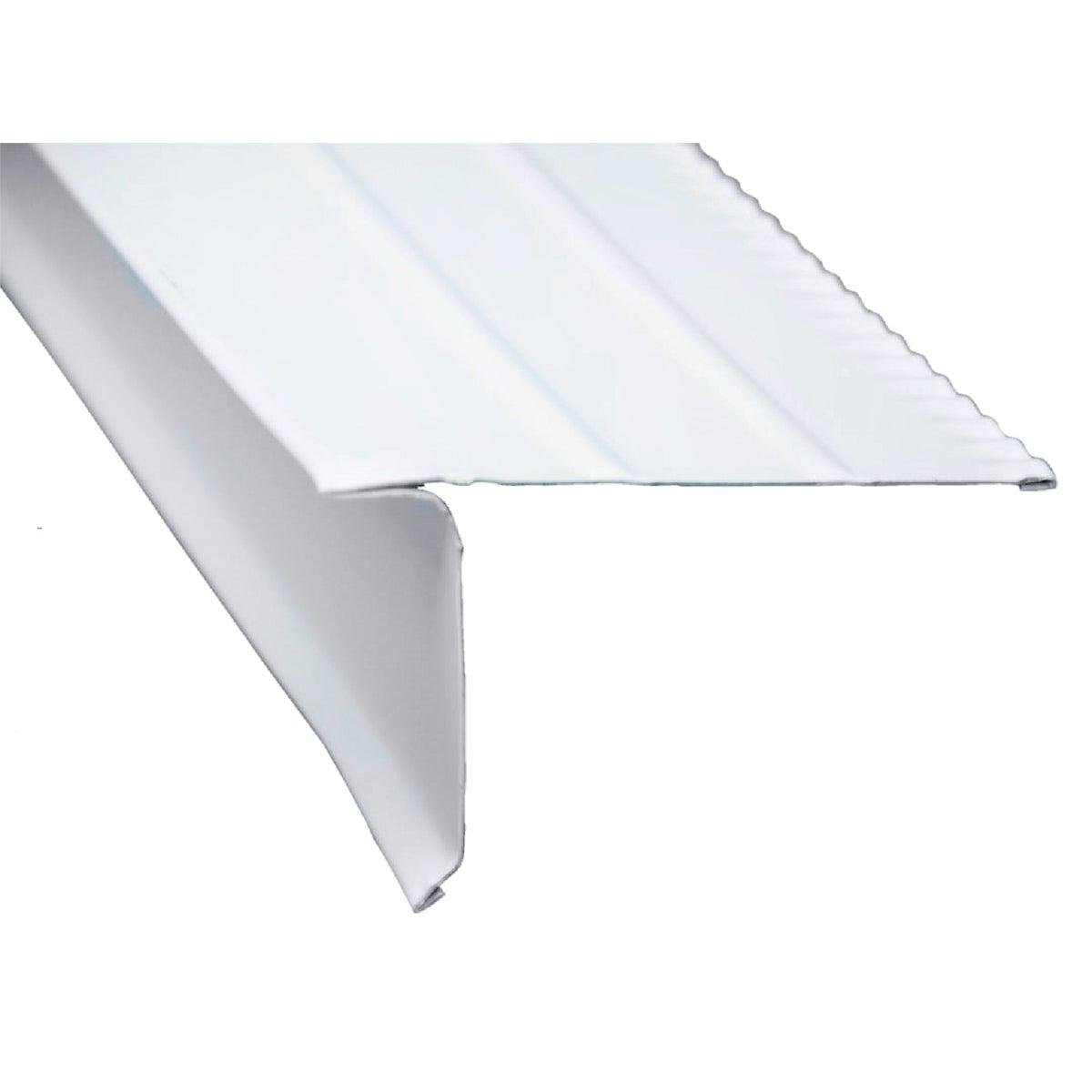 10' White F5M Drip Edge