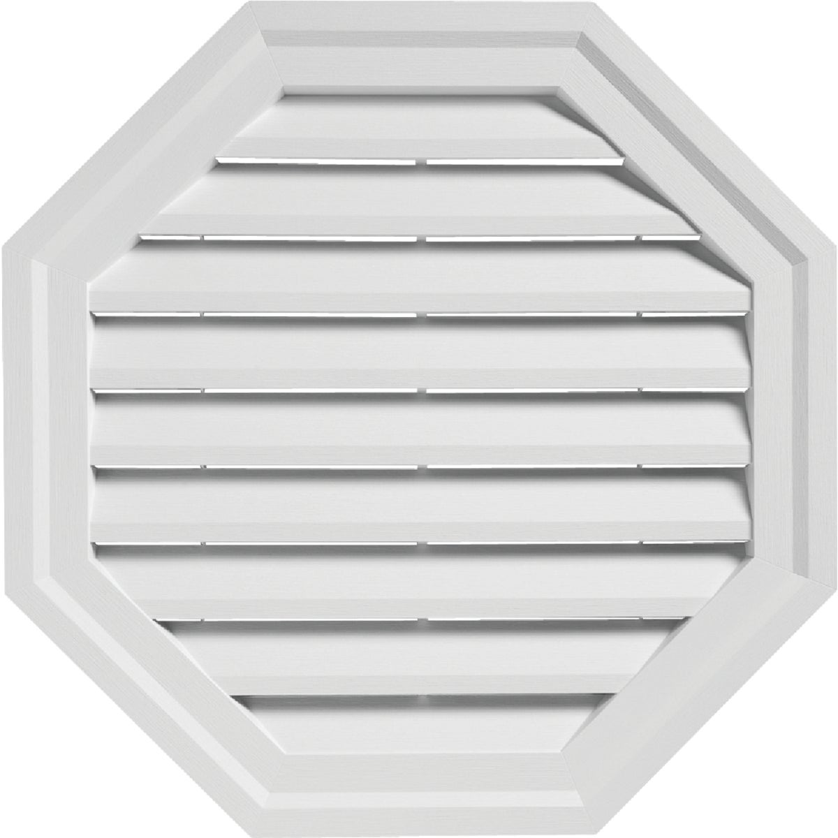 "18"" WHITE OCT GABLE VENT"