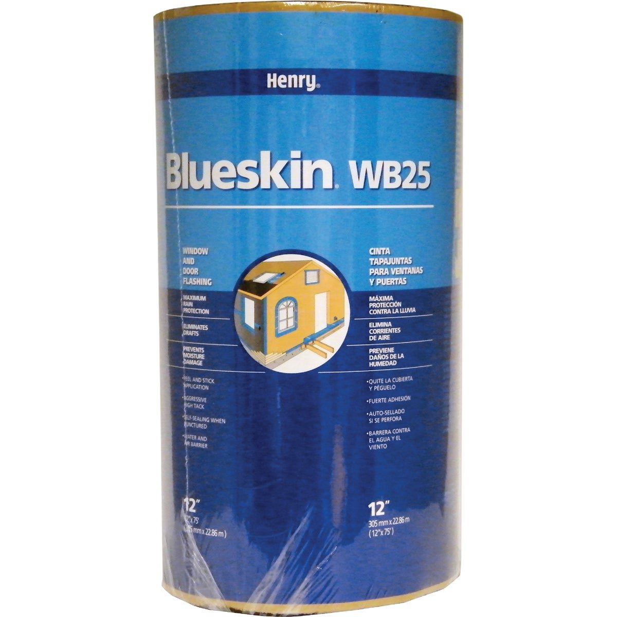 "12""X50'WINDOW DOOR FLASH - BH200WB4335 by Henry Company"