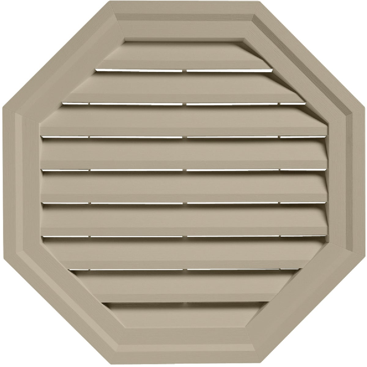 "18"" TAN OCT GABLE VENT"