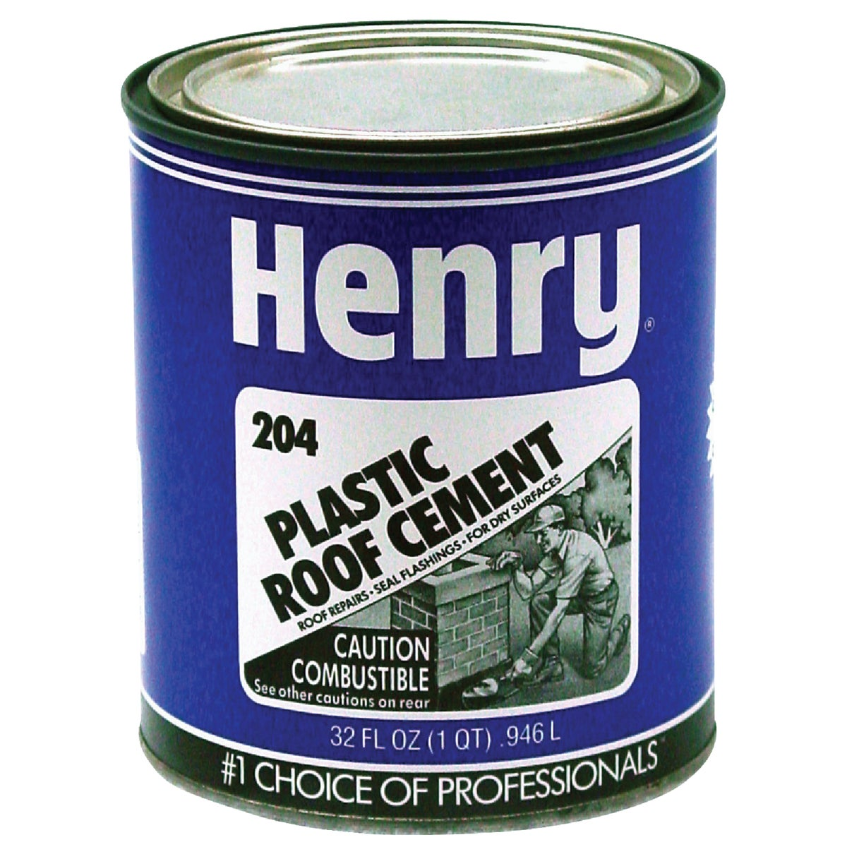 QT PLASTIC ROOF CEMENT - HE204030 by Henry Company